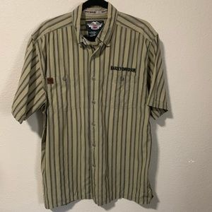 Harley Davidson, Button Up shirt (636)